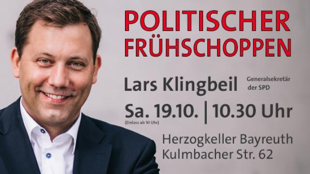 Politischer Frühschoppen mit Lars Klingbeil